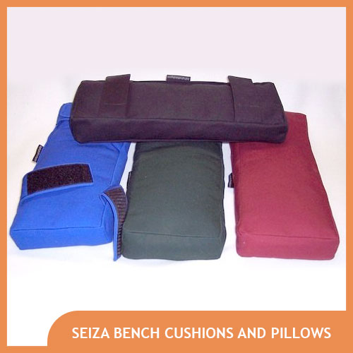 Seiza Meditation Bench Cushion and Pillow