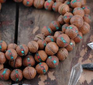 bodhi seed mala bracelet