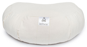 Crescent Half Moon Meditation Cushion