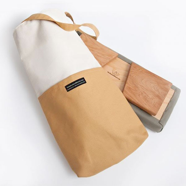 Meditation Bench Tote Bags