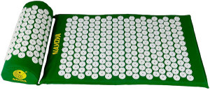 Nayoya Acupressure Mat and Pillow Set for Neck and Back Pain