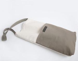 Natural and Sage Canvas Meditation Tote Bag