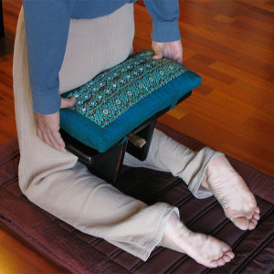 How to Sit on a Pi Meditation Bench