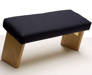 Ananda Woodworking Folding Meditation Bench