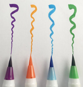 MozArt Brush Pens Adult Color Supplies
