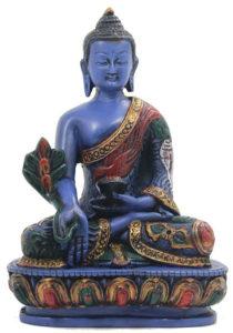 Medicine Buddha Meditation Statue