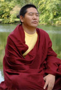 Tibetan Monk's Buddhist Meditation Shawl