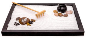 Miniature Desktop Zen Garden Kit