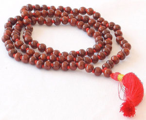 Rose Wood Mala Meditation Beads