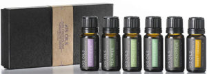 Aroma Therapy Essential Oils Gift Set