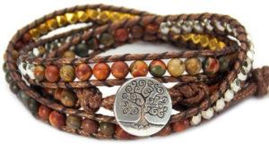 Tree of Life Wrap Bracelet