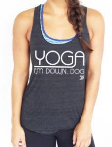 Yoga, I'm Down Dog Tank Top